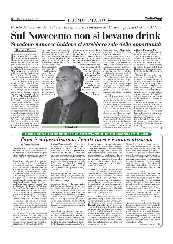 Articoli di Goffredo Pistelli su ItaliaOggi - Lu Ago 2011 by Goffredo  Pistellli - issuu 0e0283388138