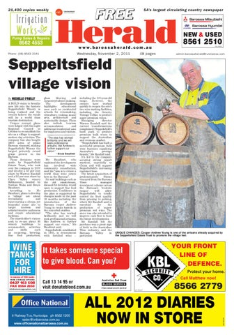 November 2nd edition by barossa herald issuu page 1 malvernweather Image collections