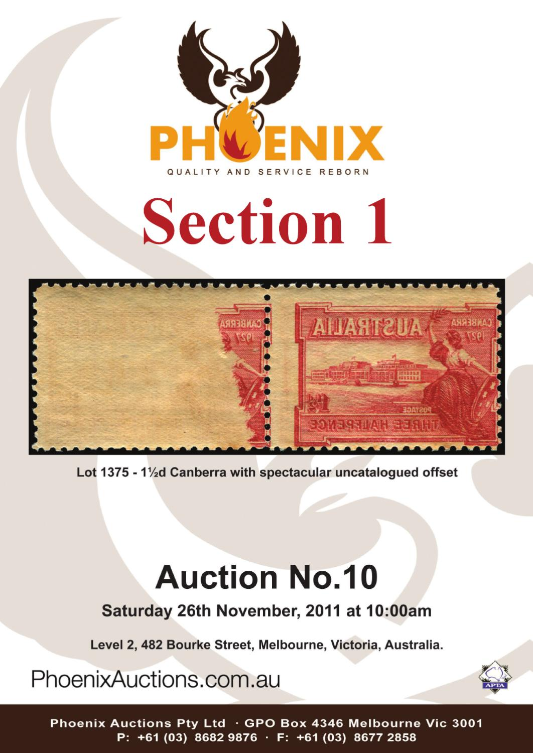 Auction 10 - Sect 1 by Phoenix Auctions Pty Ltd - issuu