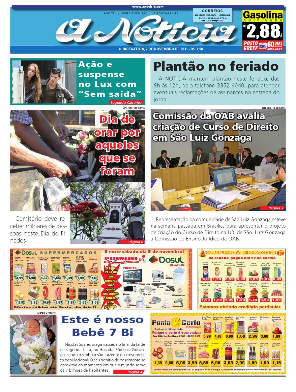 Edição de 2 de novembro de 2011 by Jornal A Notícia - issuu d828c8e551