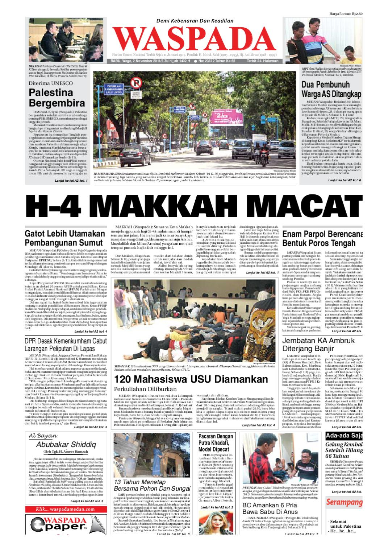Waspada Rabu 2 November 2011 By Harian Waspada Issuu