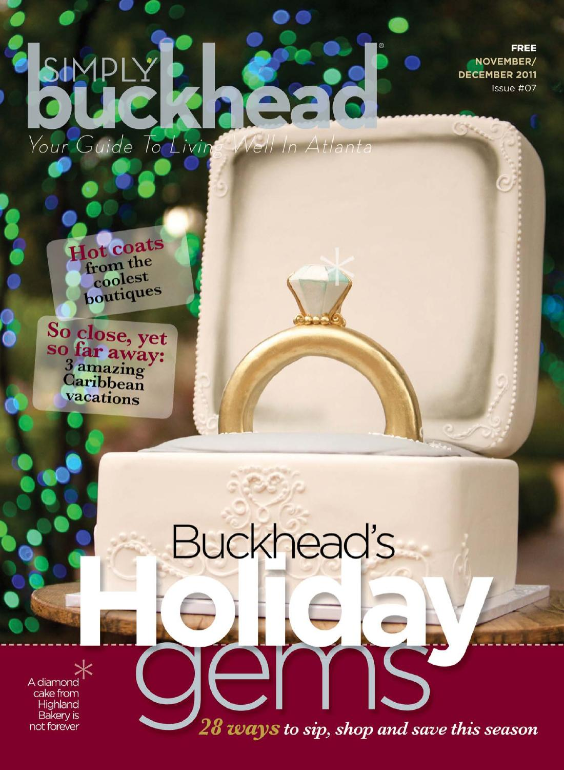 cc092cdc69e89 Simply Buckhead November December 2011 by Simply Buckhead - issuu