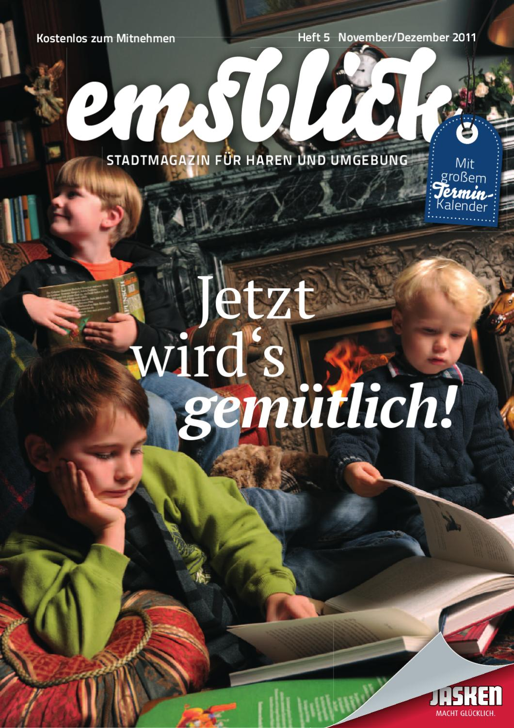 emsblick heft 05 november dezember 2011 by emsblick medien ug issuu. Black Bedroom Furniture Sets. Home Design Ideas