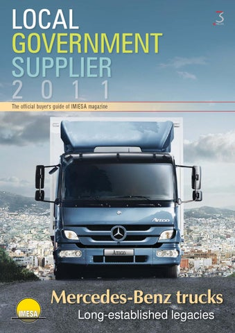 Local Government Supplier 2011 by 3S Media - issuu