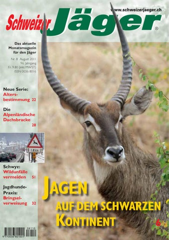 Schweizer Jäger 8/2011 by Kuerzi AG - issuu
