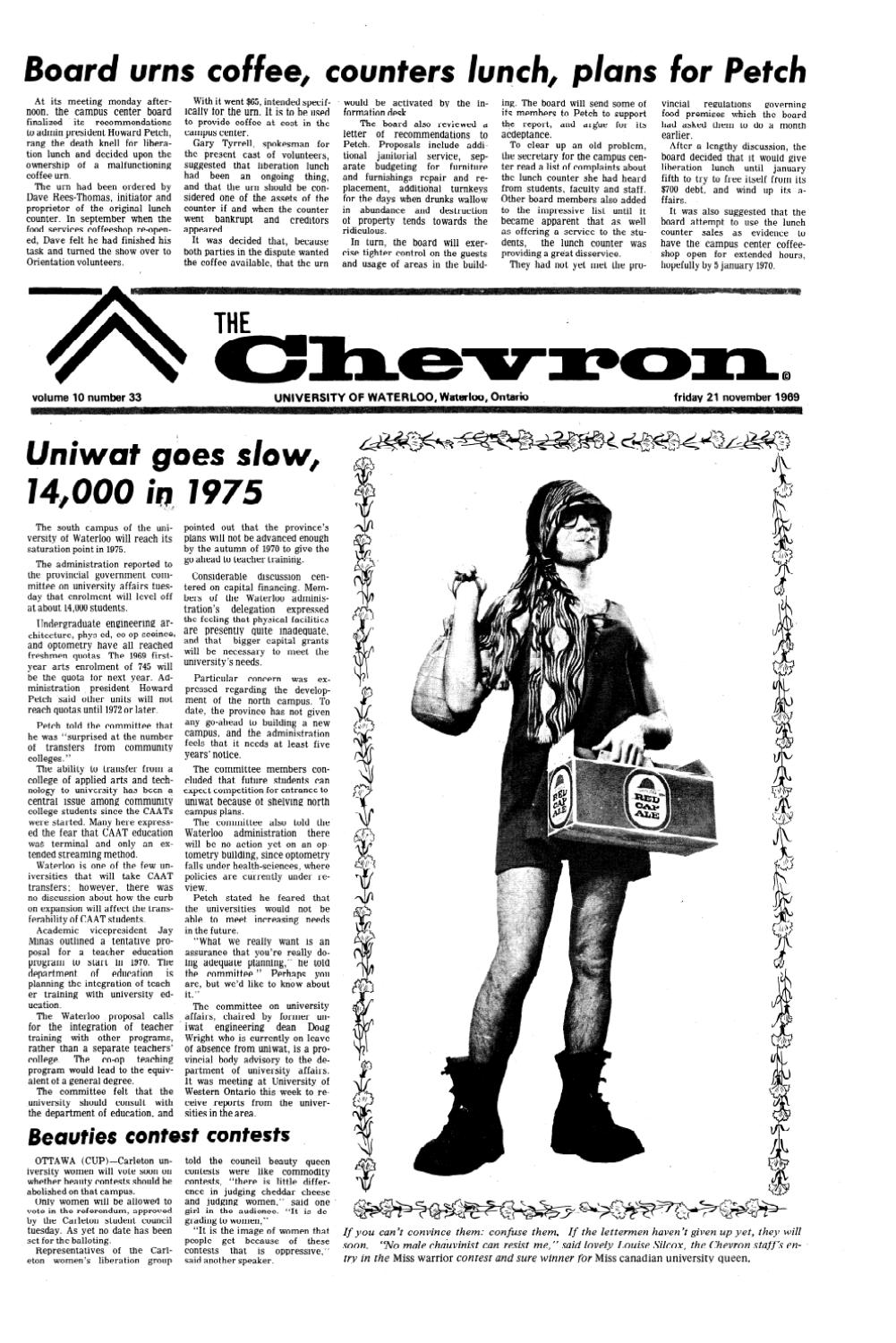 1969-70_v10,n33_Chevron by Editor Imprint - issuu