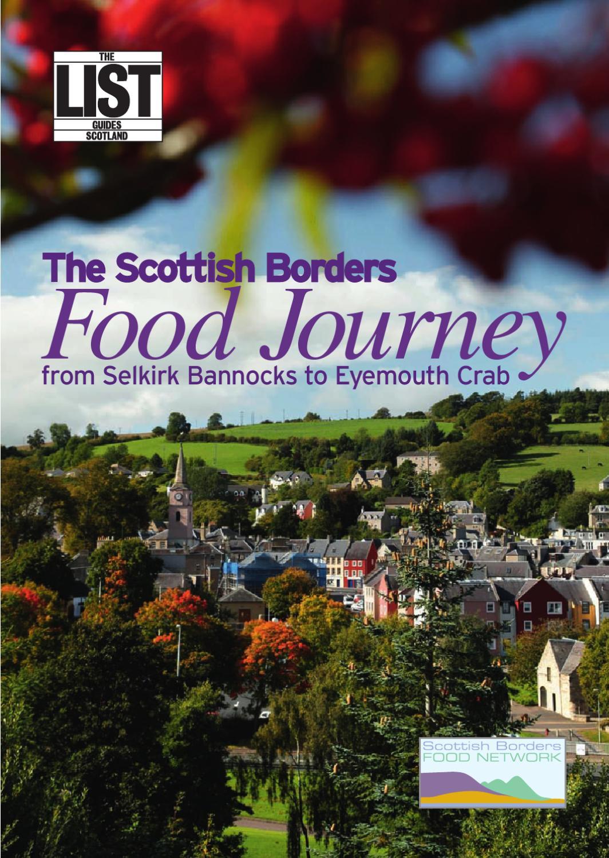 The Scottish Borders Food Journey by The List Ltd - issuu