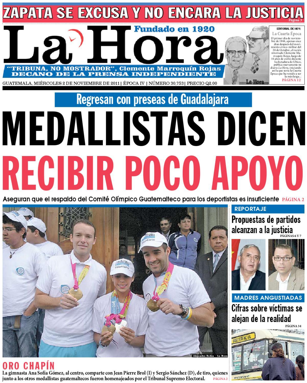 4a7a0b15452b5 Diario La Hora 02-11-2011 by La Hora - issuu