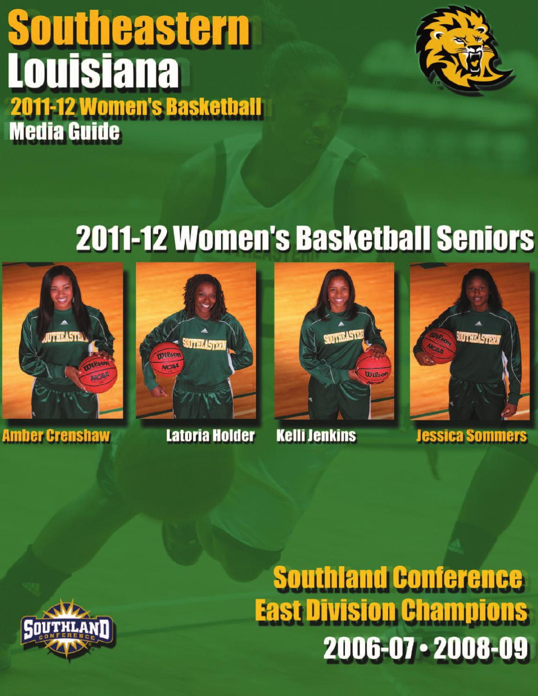 2011-12 Southeastern Louisiana Women's Basketball Media Guide by Southeastern Louisiana ...