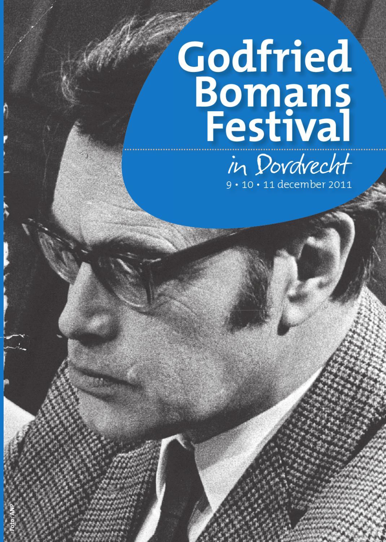 Folder Godfried Bomans Festival Dordrecht By De Bibliotheek