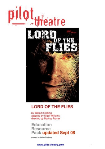 Lord Of The Flies Education Pack By Pilot Theatre Issuu