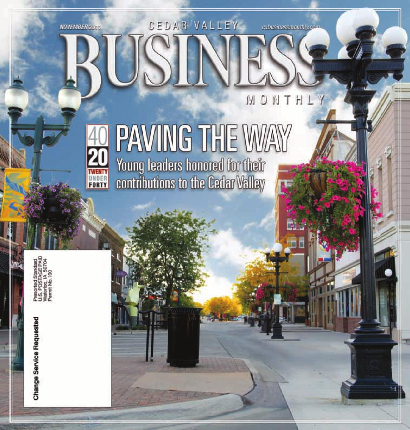 b01d7258061 Business Monthly - Nov. 2011 by Waterloo-Cedar Falls Courier - issuu