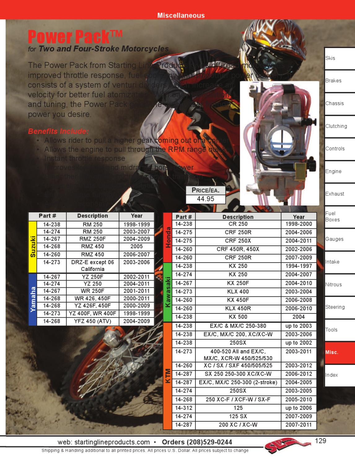 2012 SLP Catalog by Starting Line Products - issuu