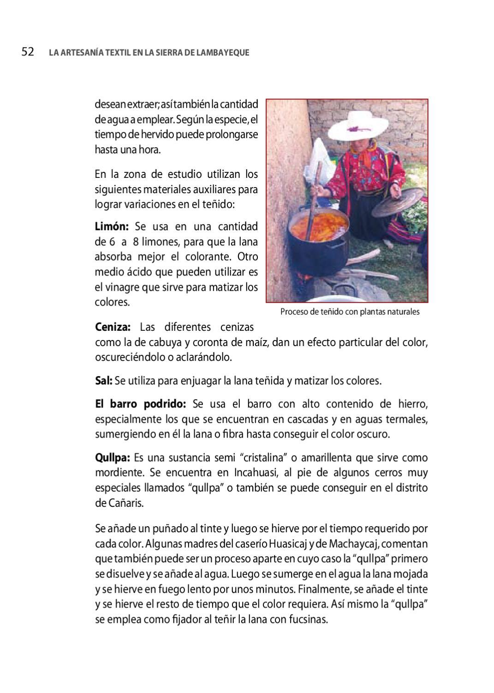 La Artesanía Textil en la Sierra de Lambayeque by CITE SIPAN