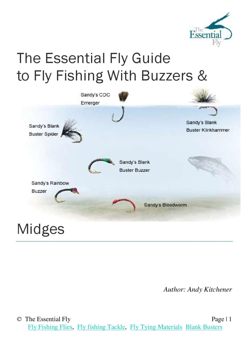 Fly Fishing With Buzzers & Midges by None NOne - issuu