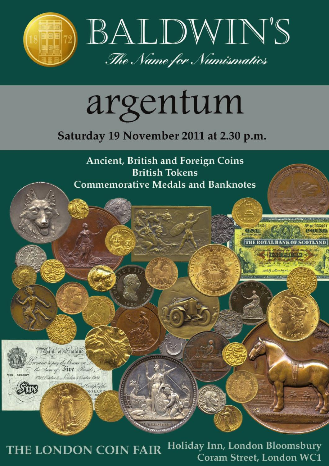 bdfc38eb0 Baldwin s Autumn Argentum Auction by A. H. Baldwin   Sons Ltd - issuu