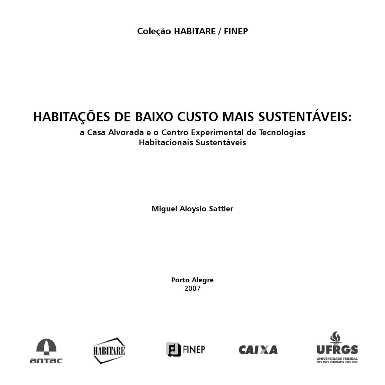 3e138c762e Habitações de Baixo Custo by Paisagismo Biodinâmico - issuu