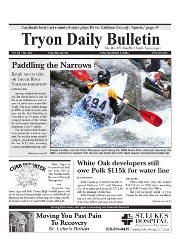 4ca7c50c Cardinals host first round of state playoffs vs. Calhoun County, 'Sports,'  page 34. Tryon Daily Bulletin