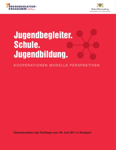 Broschüre Jugendbegleiter.Schule.Jugendbildung. by Angelika Vogt - issuu