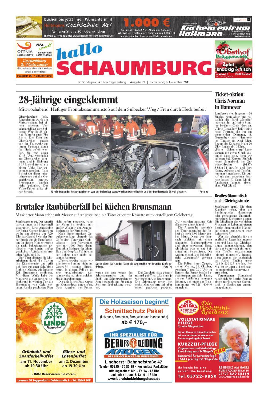 hallo Schaumburg vom 5. November 2011 by Schaumburger
