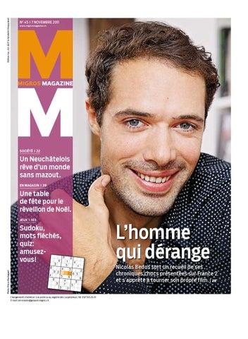 toujours populaire invaincu x Chaussures 2018 Migros Magazin 45 2011 f BL by Migros-Genossenschafts-Bund ...