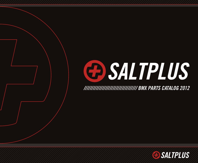 Salt Plus BMX Brake Shoes Clear//Purple Propeller