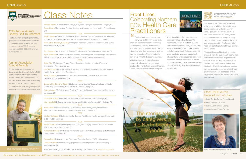 2011 Spring Update Magazine