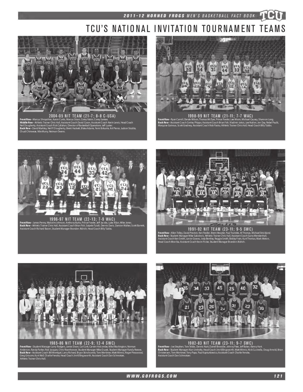 2011-12 TCU Men's Basketball Fact Book by TCU Athletics - issuu