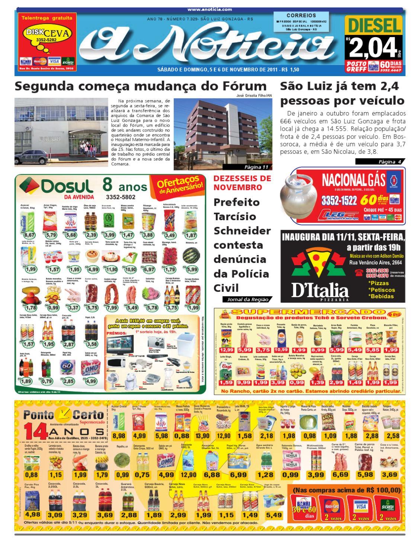 d7bfbf59f9b21 Edição de 5 e 6 de novembro de 2011 by Jornal A Notícia - issuu