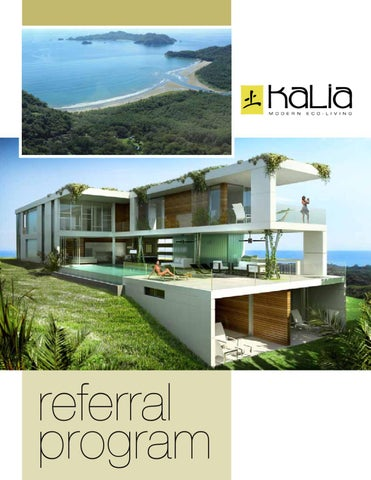 Kalia Modern Eco Living Referral Program By Michael Rivera   Issuu