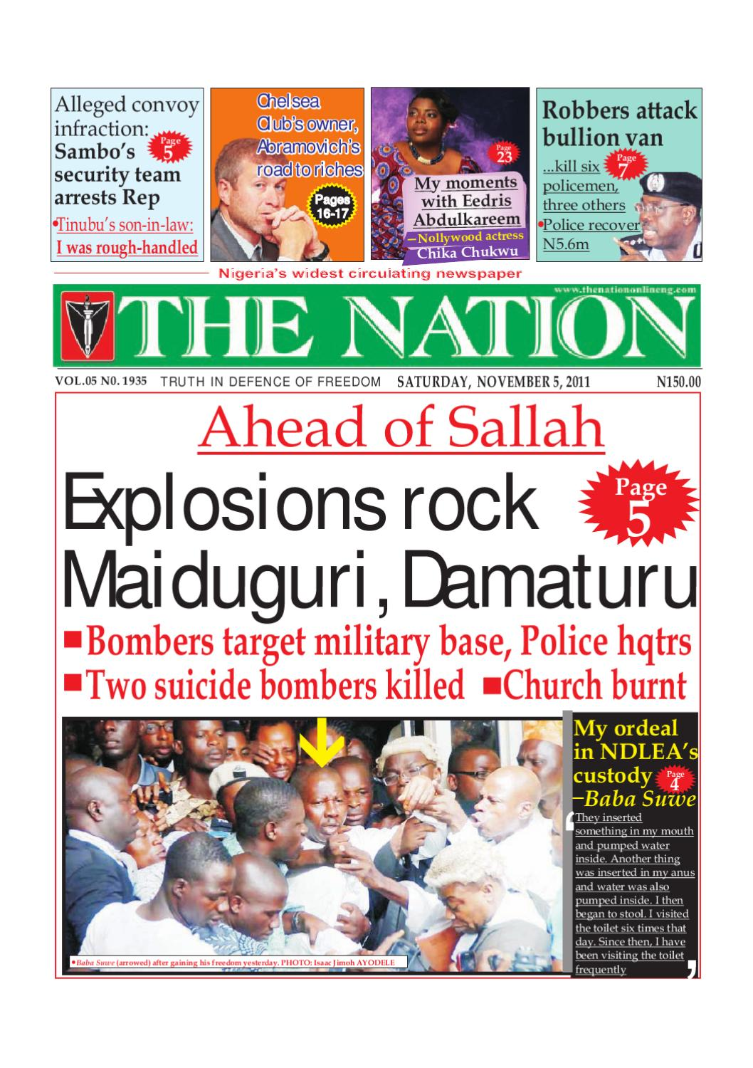 The Nation November 05 2011 By The Nation Issuu