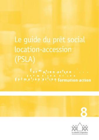 Le guide du psla dition 2011 by vincent lourier issuu for Le pret accession sociale