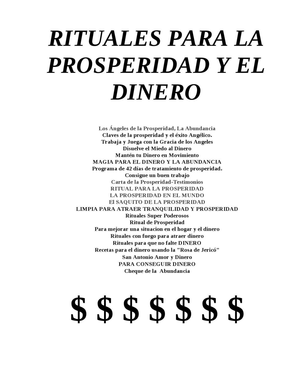 Rituales para la prosperidad y el dinero by gran logia simbolica d andorra glsa issuu - Rituales para la buena suerte ...