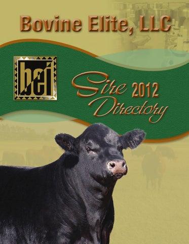 U S Cattle Inventory Bovine Elite 2012 Cata...