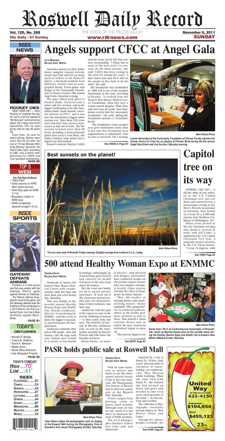 67f010e938104 11-06-11 rdr newspaper by Roswell Daily Record - issuu