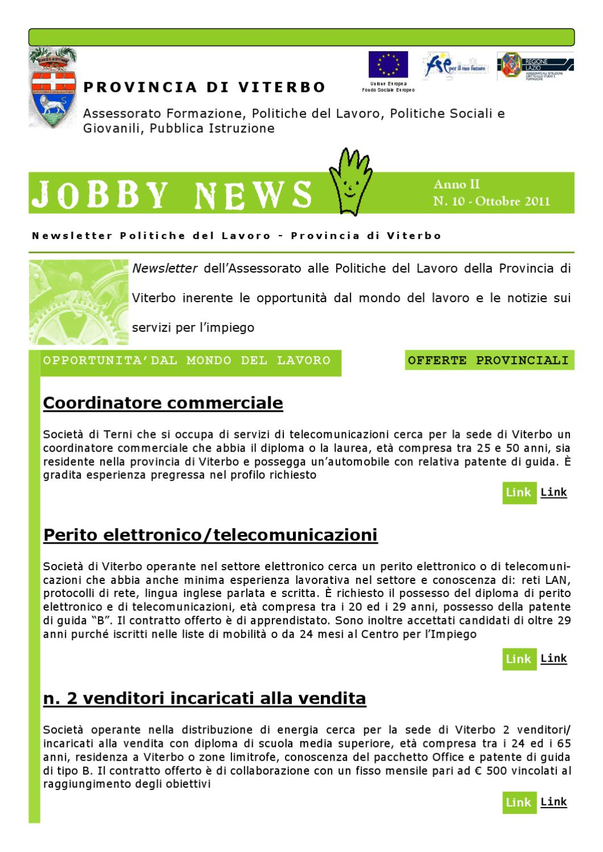 JOBBY NEWS by ARNALDO VICARI - issuu
