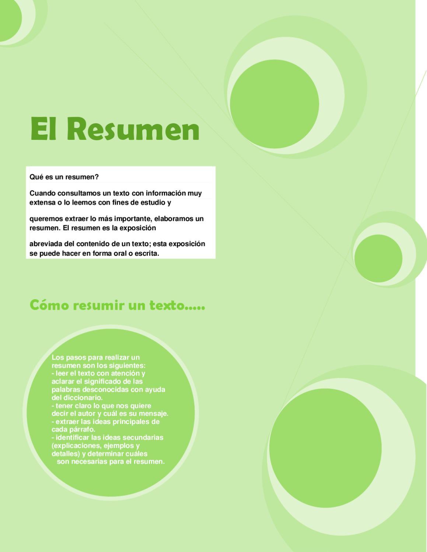 El Resumen by Alán Sosa - issuu