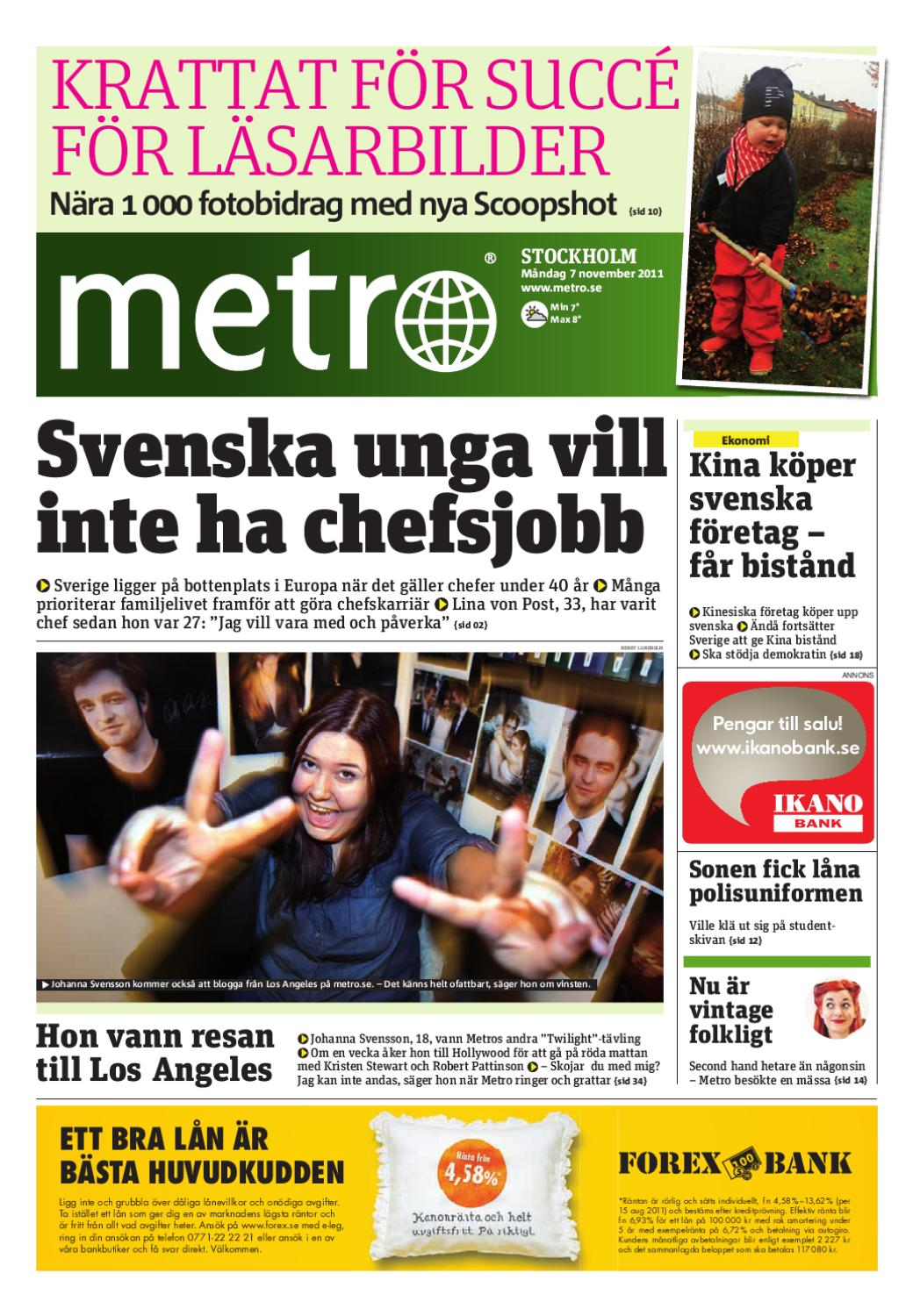 cheap for discount 3960c 8787d 20111107 se stockholm by Metro Sweden - issuu