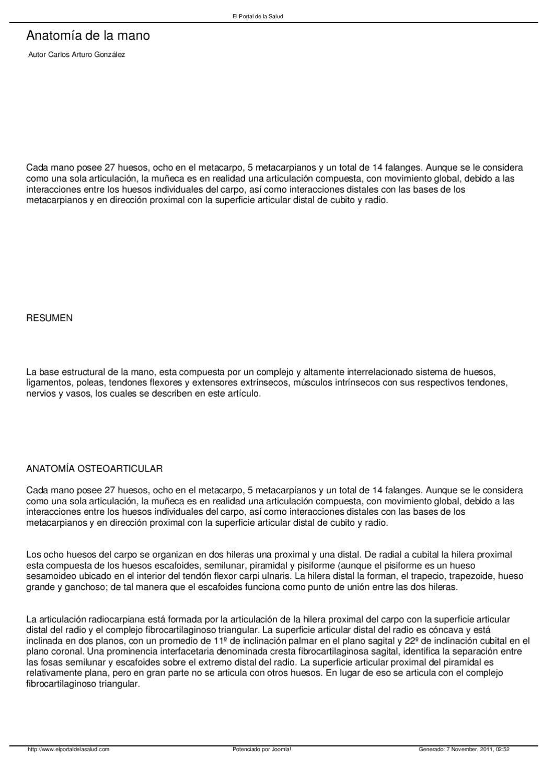 anatomia de la mano by Soraya Jimenez - issuu