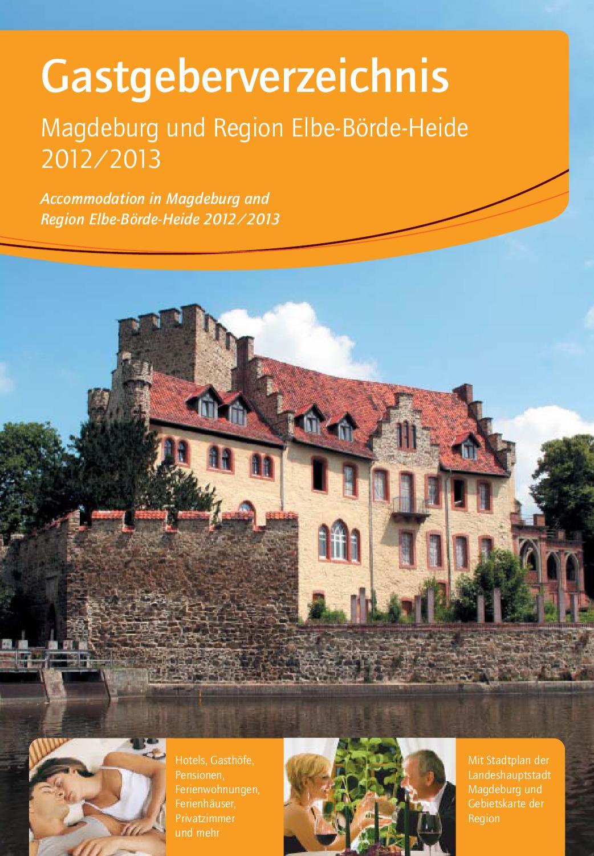 Gastgeberverzeichnis Magdeburg und Region by Elberad Wegfahrer - issuu