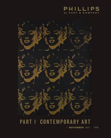 Contemporary Art Part I By Phillips De Pury Co