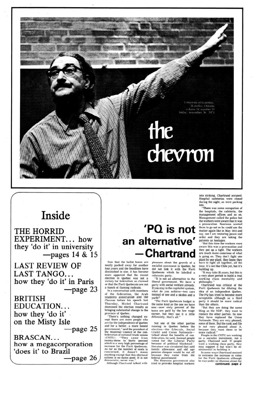 1973-74_v14,n19_Chevron by Editor Imprint - issuu