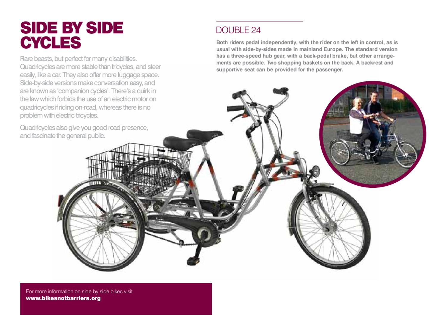 BIkes Not Barriers: The Guide to Disability Cycling by Cyclo Rama