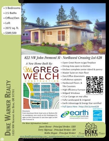 Northwest Crossing - Lot 628 by Duke Warner Realty - issuu on