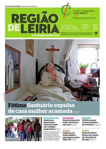 20a8c36519 Região de Leiria 4 Novembro 2011 by Região de Leiria Jornal - issuu