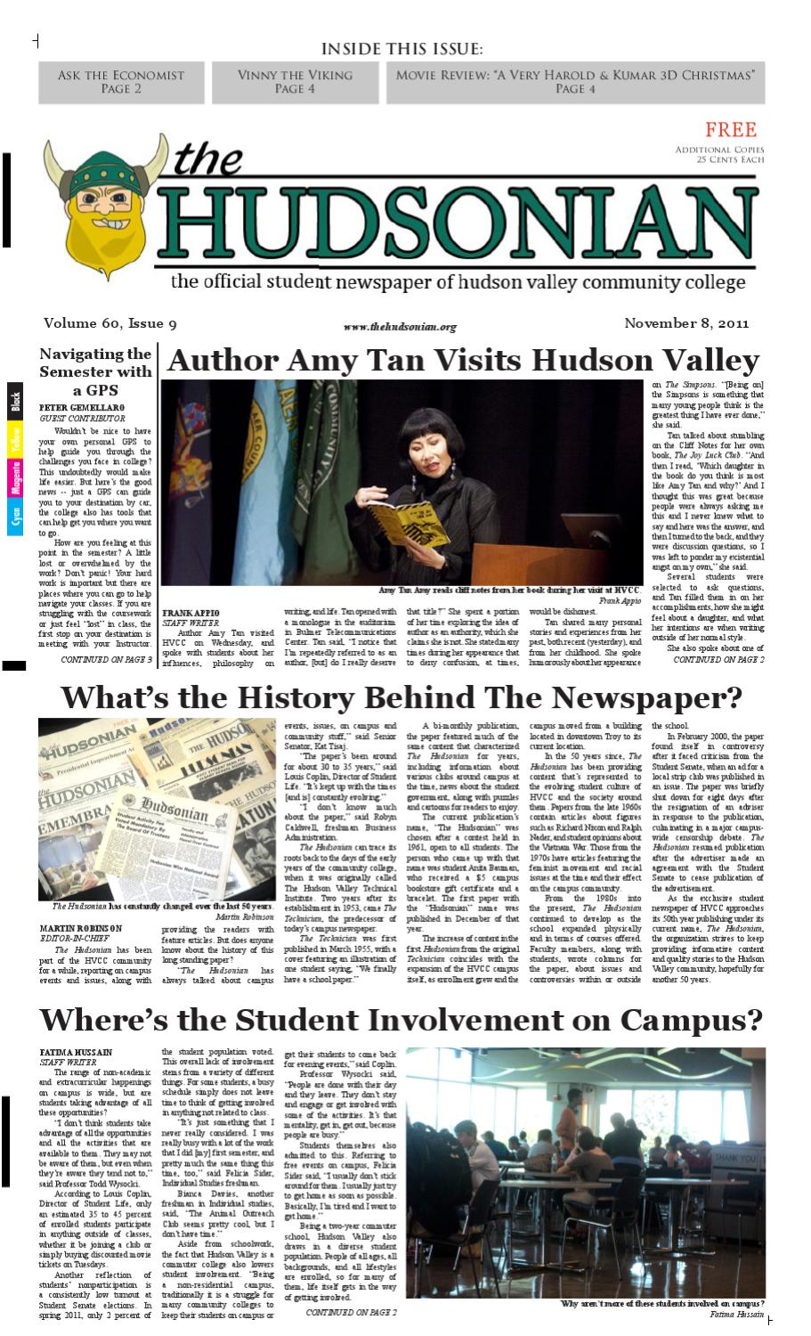 Volume 60 Issue 09 by The Hudsonian Student Newspaper - issuu