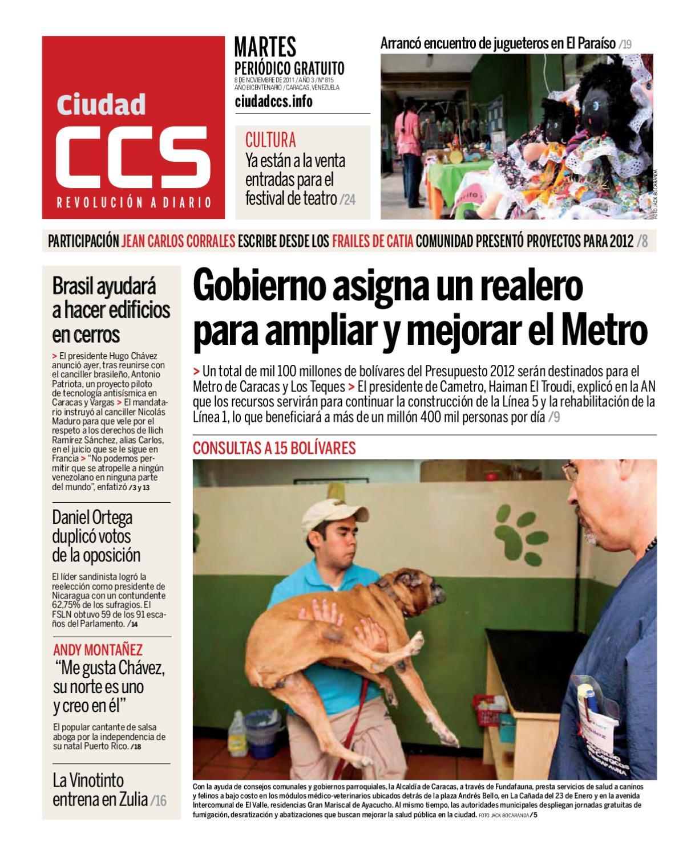 081111 by Ciudad CCS - issuu