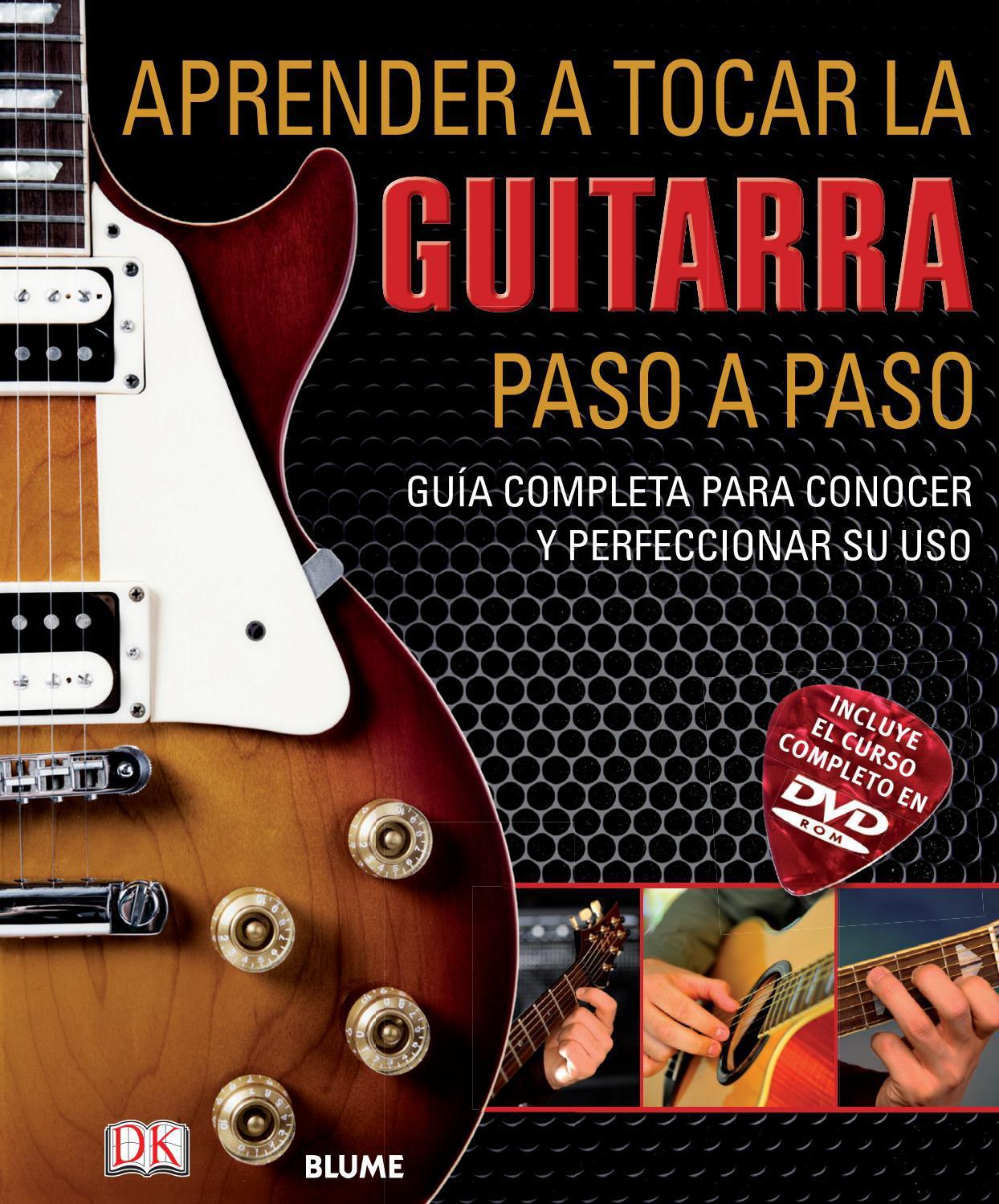 Aprender a tocar la guitarra by Editorial Blume - issuu
