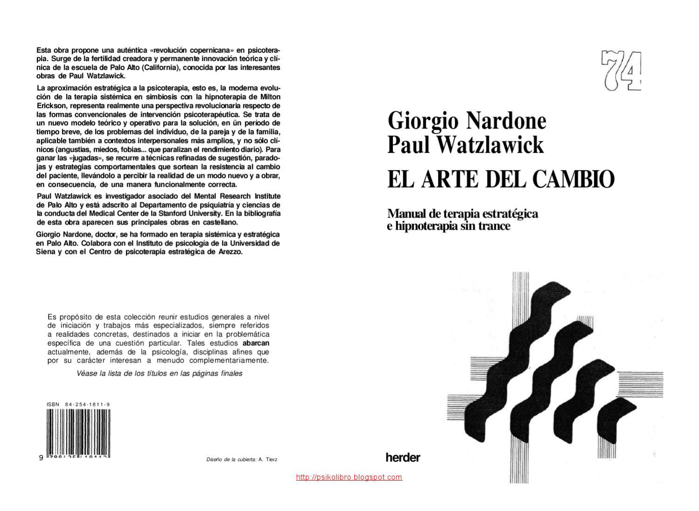 El Arte del Cambio by buelga alvarez - issuu