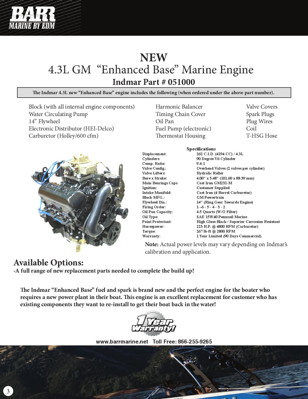 Barr Marine by EDM Engine Catalog by Natalie Carrera - issuu